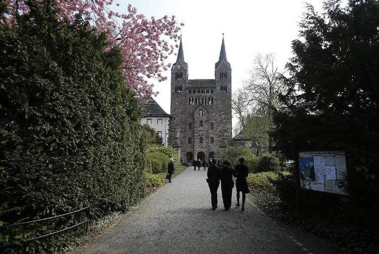 Reichsabtei Corvey zählt künftig zum Weltkulturerbe (© 2014 AFP)