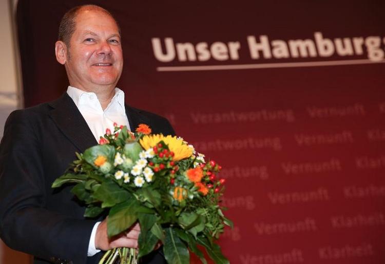 Hamburgs SPD rüstet sich für Bürgerschaftswahl (© 2014 AFP)