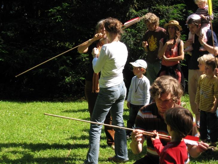Sommerferienprogramm des Neanderthal Museums (Foto: Neanderthal Museum)