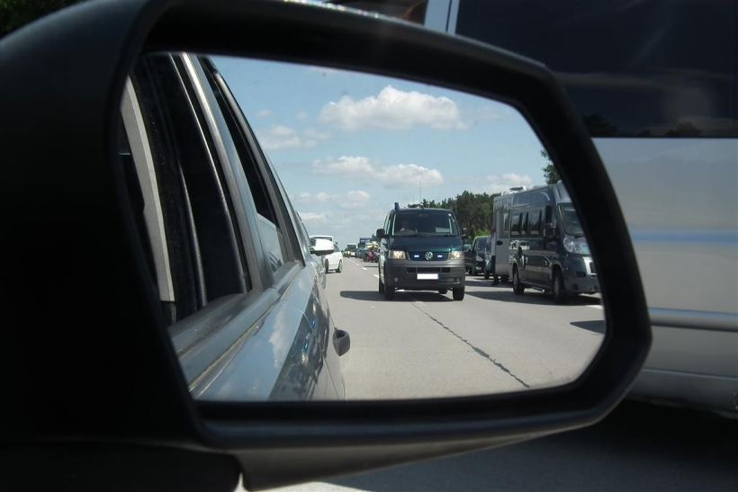 Schwerer Verkehrsunfall auf der A 1 (xity-Foto: D. Postert)