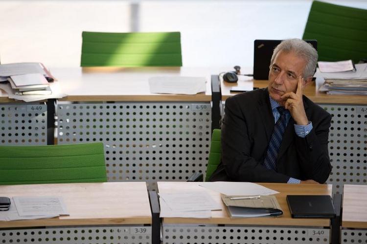 Tillich will AfD nicht an die Regierung lassen (© 2014 AFP)
