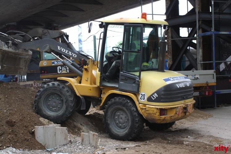 Diebe stehlen 300 000 Euro teures Baufahrzeug. (xity-Foto: D. Mundstock)