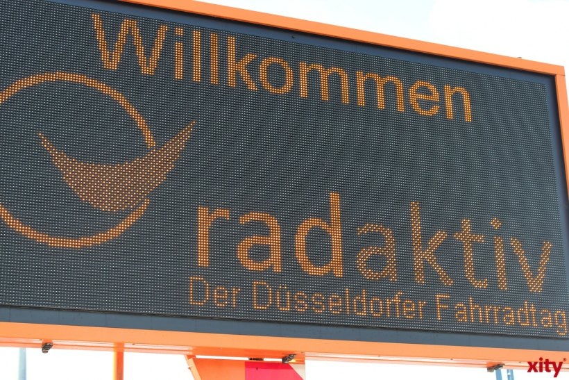 Düsseldorf ist radaktiv! (xity-Foto: H.Müller)