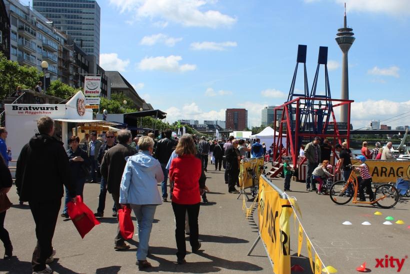 Gesamter Markt auf einer Meile (xity-Foto: H.Müller)