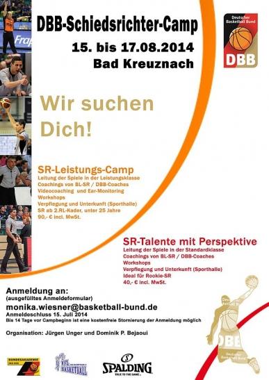 Der offizielle Flyer vom DBB (Foto: DBB)