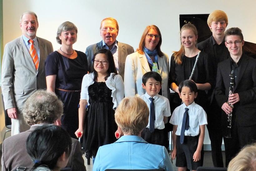 Verleihung des Trude-Fischer-Preises (Foto: Rhein-Kreis-Neuss)