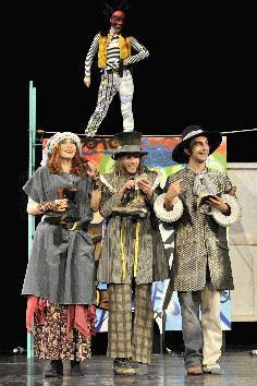 von links: Stefanje Meyer, Sandra Förster, Markus Wilharm, Camil Morariu (Foto: Presse Wertheim/Peter Empl)