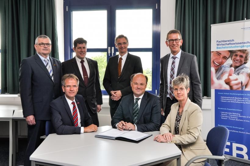 Bündnis gegen Fachkräftemangel im Handwerk. (Foto: Dr. Christian Sonntag)