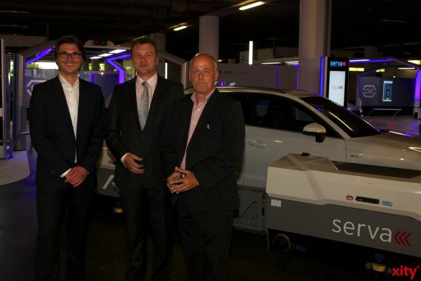 (v.l.) Rupert Koch, Thomas Schnalke und Dr. Christian Jahncke (xity-Foto: D. Creutz)