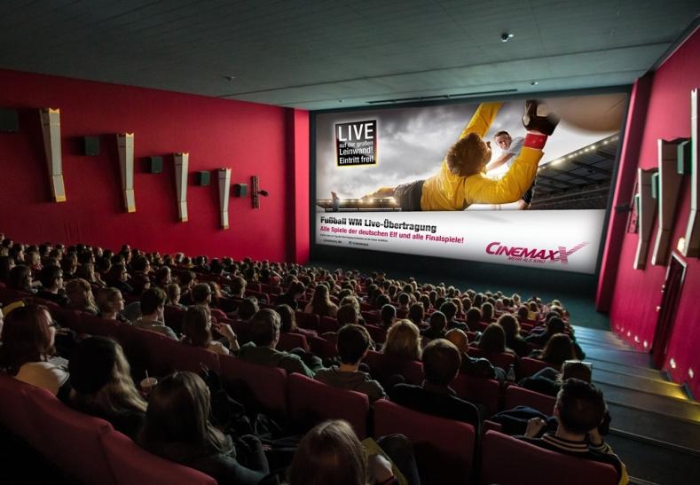 Fußball im Kino. (Foto:Markus Marschall)