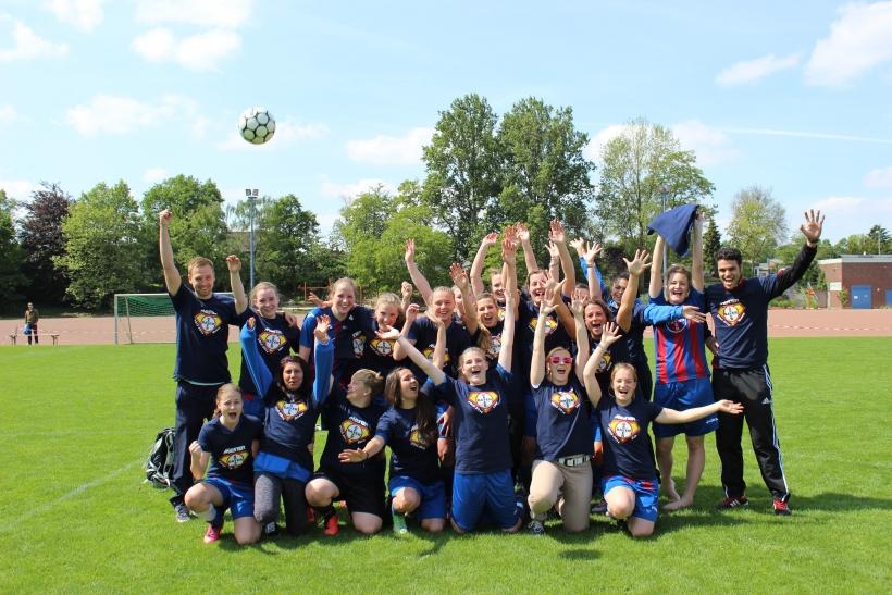 Nach der Rückrunde sichern sich die Damen des SC Bayer den Aufstieg in die Bezirksliga. (Foto: Jens Sattler)