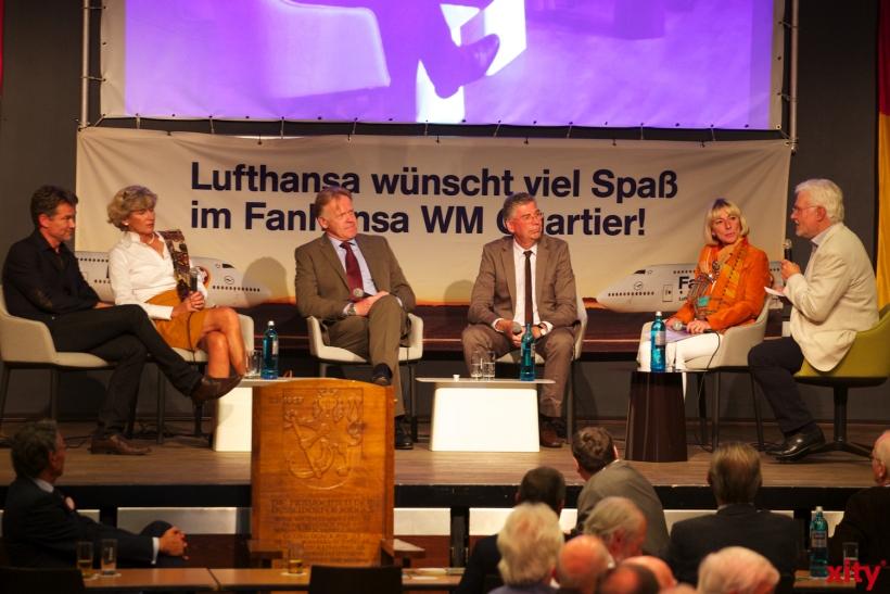 (v.l.)Volker Vogel, Ricarda Kiwit, Peter Wienen, Frank Hartmann, Sabine Schmidt und Ludolf Schulte(xity-Foto: D. Creutz)