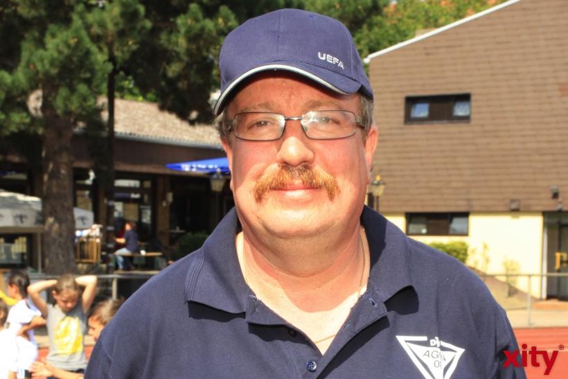 Manfred Novacek, Vorstandsvorsitzender des DJK AGON 08 (xity-Foto: D. Mundstock)