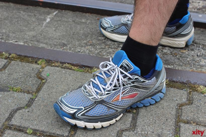 Unsere Füße tragen uns im Laufe unserer Jahre bis zu 180000km weit (xity-Foto. Z. Claus)
