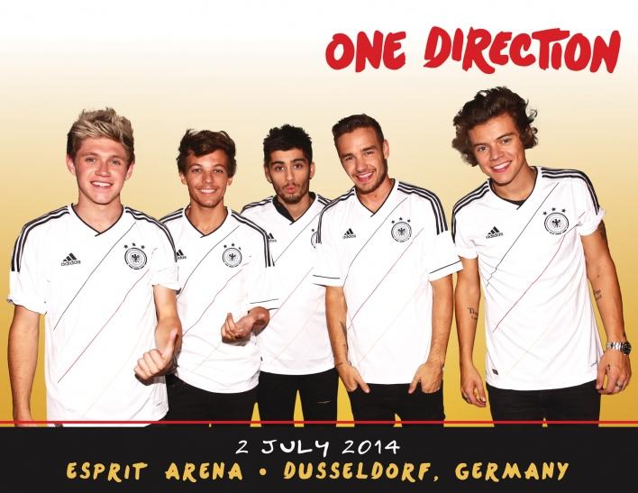 """""""Fans dürfen sich auf ein exklusives Deutschland Konzert von One Direction freuen"""" (Foto: M. Lieberberg)"""