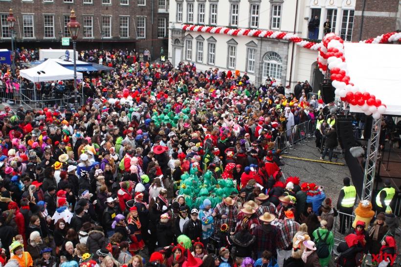 """Mit einer Karnevalsfeier unterstützt """"Hamm-Feiert"""" das Kinderhospiz Regenbogenland. (xity-Foto: D.Creutz)"""