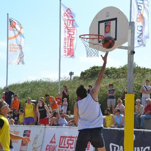 Beachbasketball-Tour in Berlin (Foto: DBB)