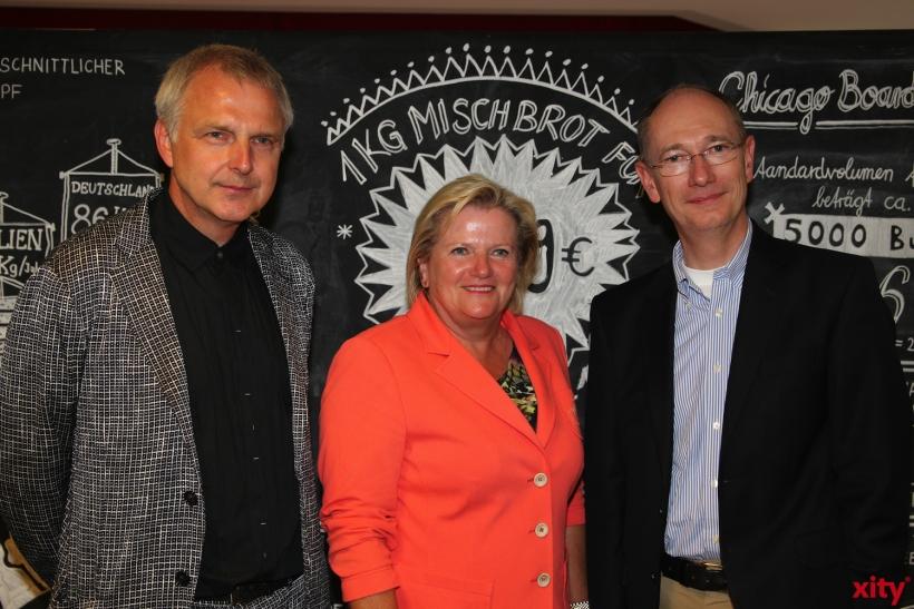 Wilfried Korfmacher, Brigitte Grass, Rolf Nagel (xity-Foto: H. Müller)