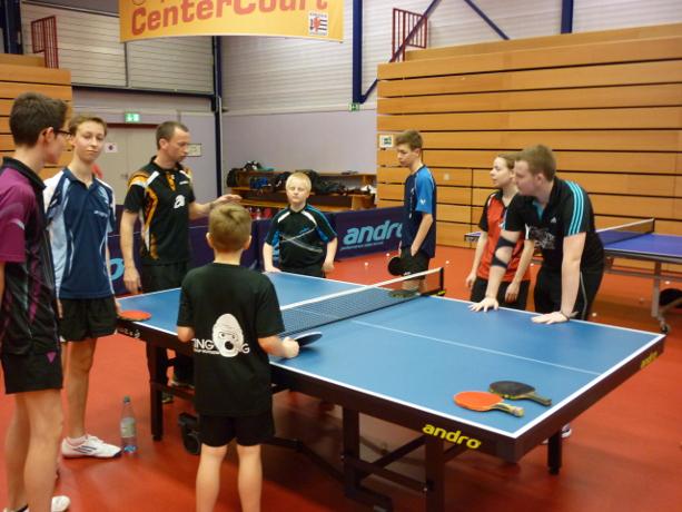Sommerferien-Tischtenniskurs (Foto: Borussia Düsseldorf