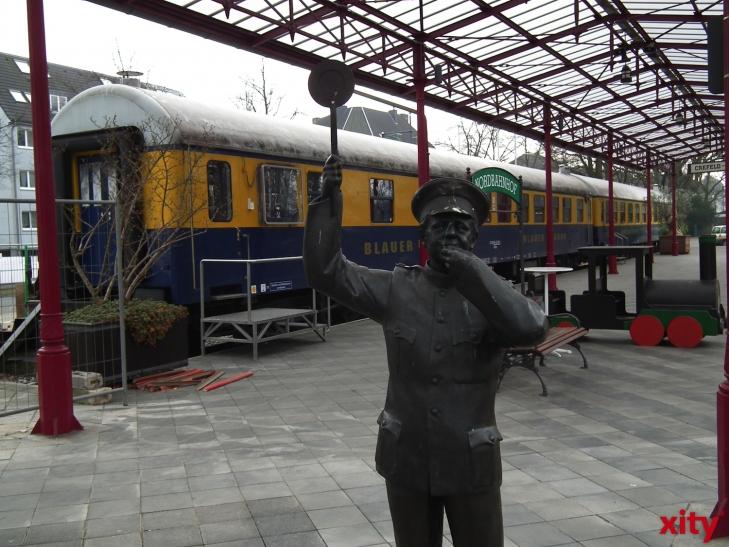 """Bahn frei für den geliebten """"Schluff"""". (xity-Foto: E. Aslanidou)"""
