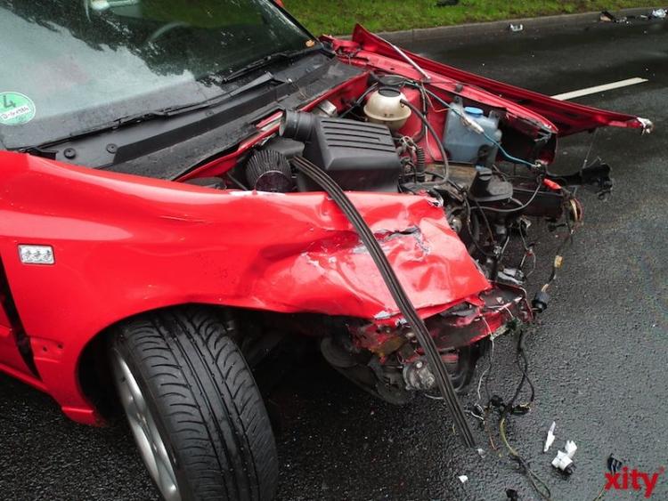 In Nordrhein-Westfalen ereignen sich pro Jahr 550000 Verkehrsunfälle. Der Anteil von jugendlichen Verkehrsteilnehmern bei den Verursachern von schweren Unfällen ist überproportional hoch. (xity-Foto: P. I. )