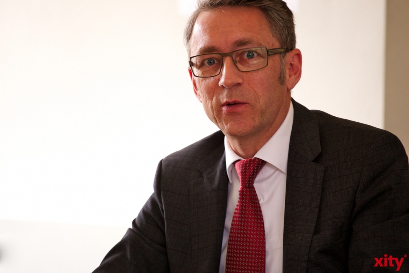 Georg Jennen, General Manager Mitsubishi Electric Deutschland(xity-Foto: D. Creutz)