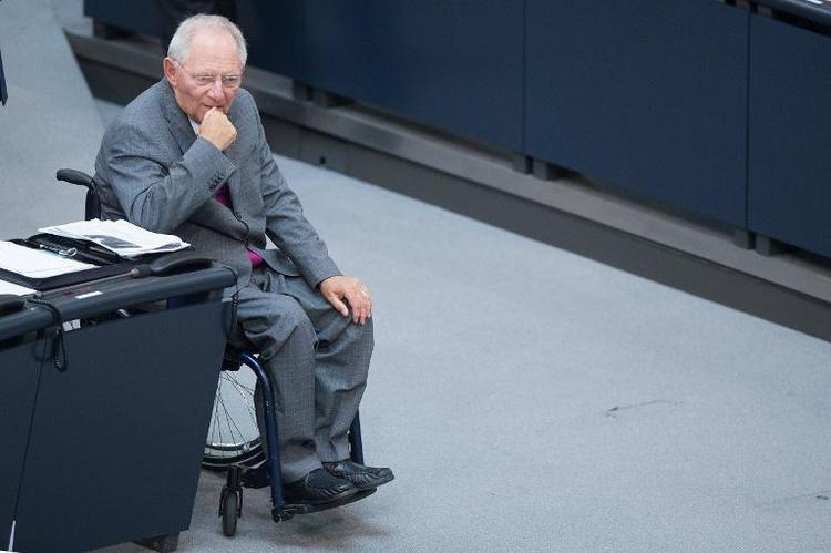Haushalt für 2014 vom Bundestag verabschiedet (© 2014 AFP)