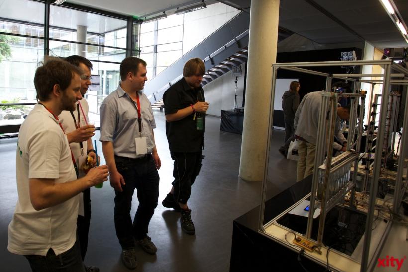 Es gab viele interessante Projekte zu sehen und zu erleben (xity-Foto: D. Creutz)