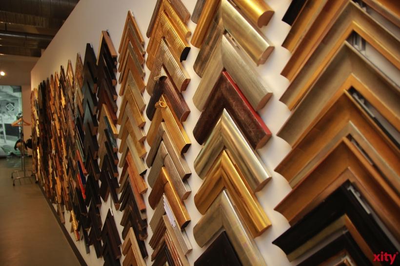 Die Rahmenmanufaktur Conzen besteht mittlerweile seit 160 Jahren (xity-Foto: P. Basarir)