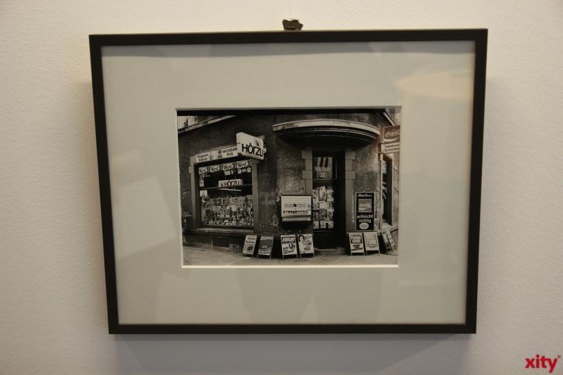 Aber auch eine Sammlung Kölner Kioske und Büdchen gehören zur Ausstellung (xity-Foto: P. Basarir)