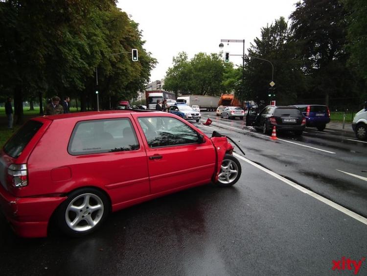 Verkehrsunfall mit Personenschaden (xity-Foto: P.I.)