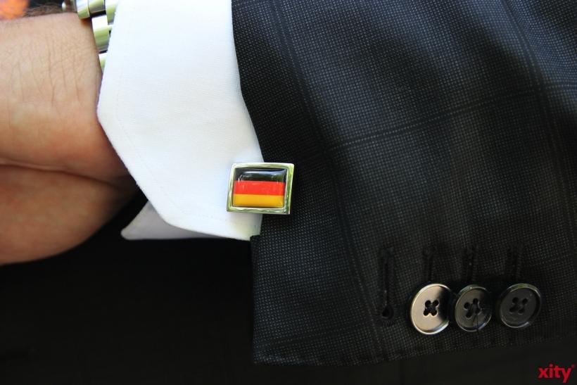 Rainer Mellis zeigte auch bei der After Curry Lounge Teamgeist für die Nationalelf (xity-Foto: P.I.)