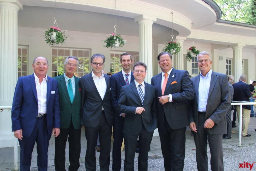 Prof Klaus D. Nielen, Dr. Paul Breuer, Prof. Jörg Andres, Christian Böhmer, Rainer Mellis und Jörg Quassowski (xity-Foto: P.I.)