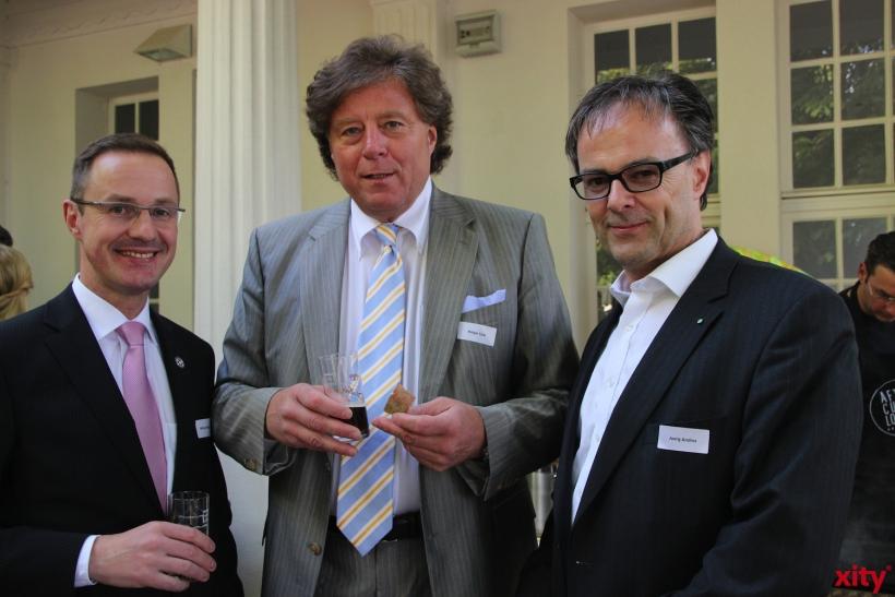 Holger Lück und Prof. Jörg Andres (xity-Foto: P.I.)