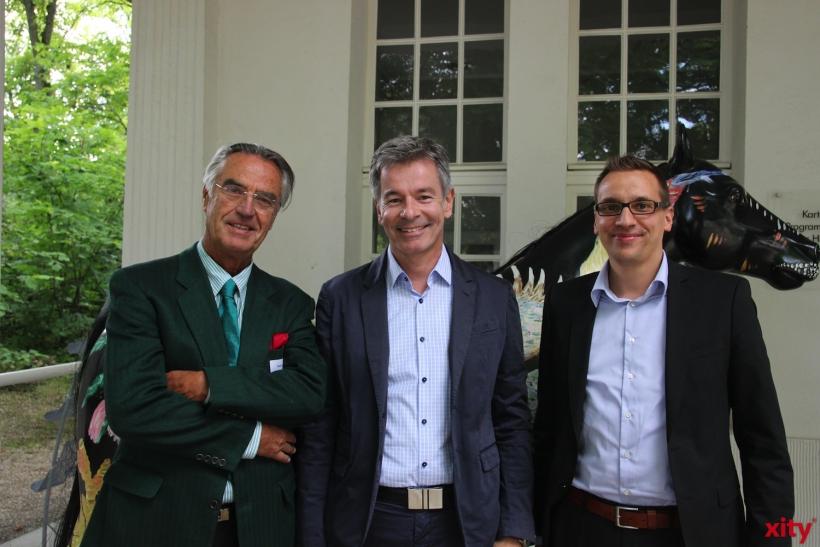 Dr. Paul Breuer und Stephan Zwierzynski (xity-Foto: P.I.)