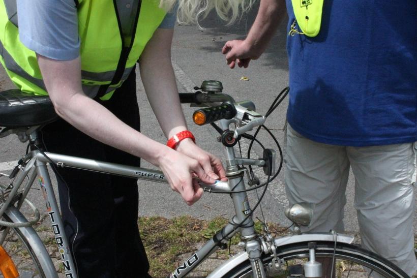 Die meisten (78) Unfälle passierten mit dem Fahrrad. Bei knapp der Hälfte (47,5%) dieser Fahrradunfälle war eigenes Fehlverhalten die Ursache. (xity-Foto: E. Aslanidou)