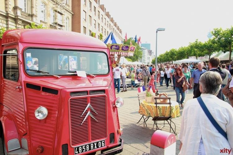 Am Freitag startet das Frankreichfest in Düsseldorf (xity-Foto: P. Basarir)