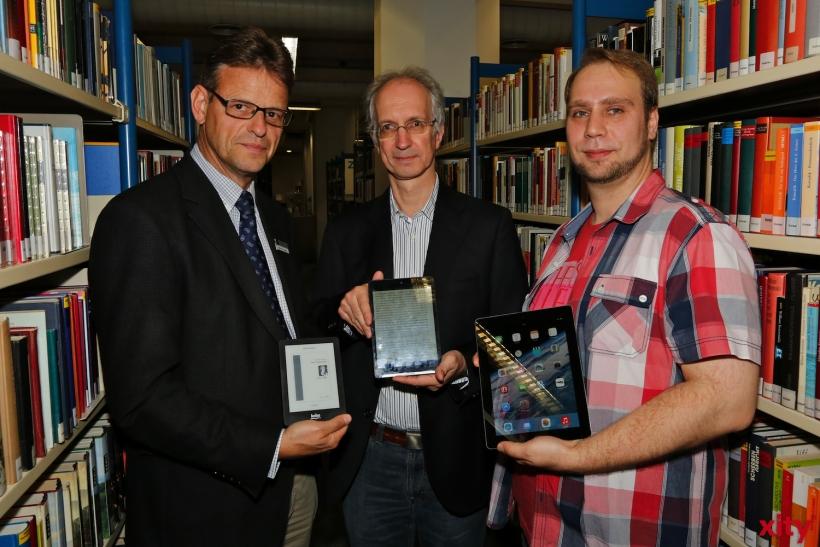 (v.l.)Dr. Norbert Kamp, Klaus Peter Hommes und Stephan Kotsios (xity-Foto: D. Creutz)