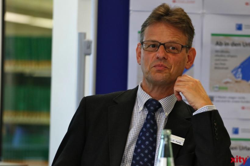 Dr. Norbert Kamp - Direktor der Stadtbüchereien Düsseldorf (xity-Foto: D. Creutz)