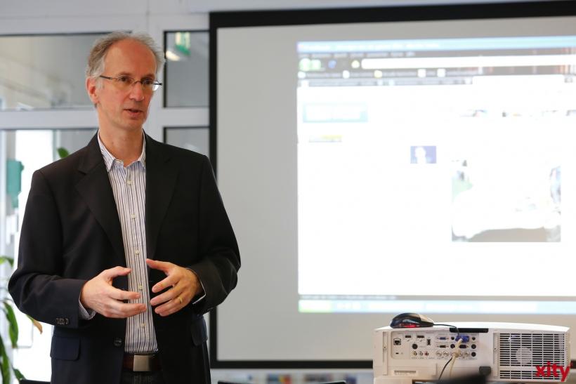 Klaus Peter Hommes ist Abteilungsleiter für Bestandsaufbau, Sacherschließung und Fachinformation (xity-Foto: D. Creutz)