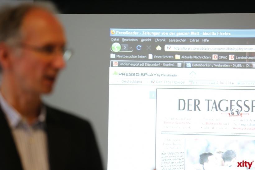 Mit press display hat man über 2.000 Tageszeitungen aus alles Welt an einem Ort (xity-Foto: D. Creutz)
