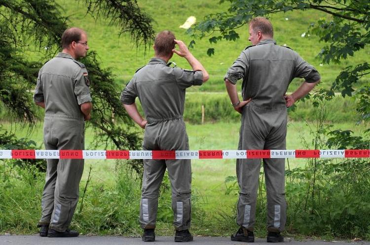 Learjet-Piloten bei Absturz ums Leben gekommen (© 2014 AFP)