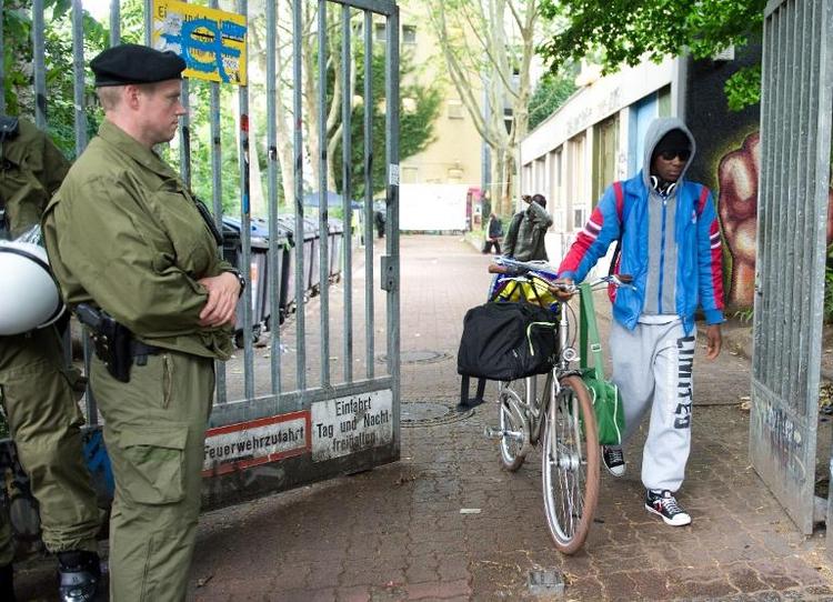 Besetzte Schule in Berlin-Kreuzberg wird nicht geräumt (© 2014 AFP)