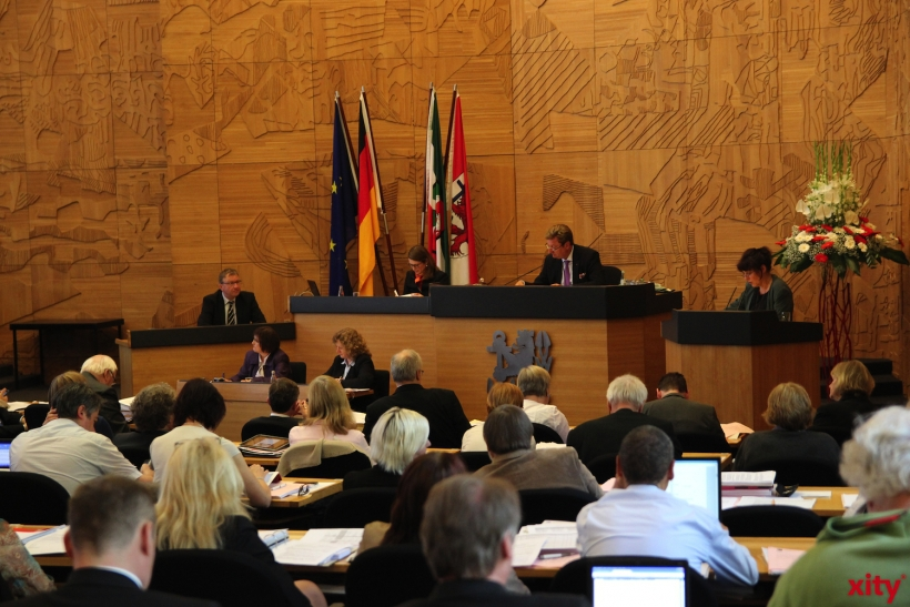 Friedrich Conzen wird Erster Bürgermeister (xity-Foto: P. Basarir)