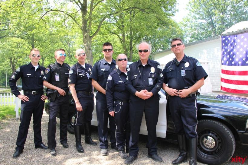 """Zu den Feierlichkeiten kam auch ein """"Polizeistaffel"""" (xity-Foto: P.I.)"""