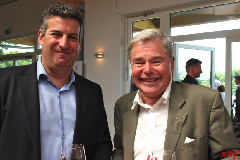 Jacques Abramowicz und Dr. Lutz W. Aengevelt (xity-Foto. P.I.)