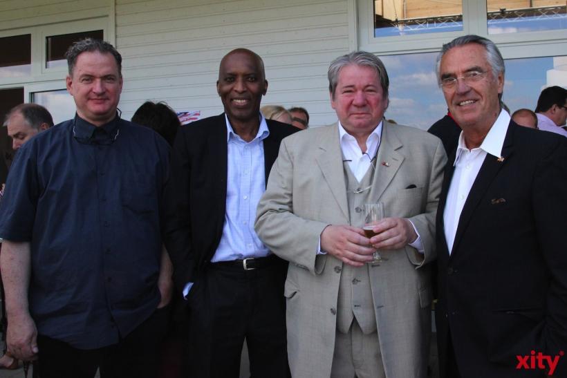 Christian Steinmetz, Ibrahim Guèye, Thomas Beckmann und Dr. Paul Breuer (xity-Foto: P.I.)