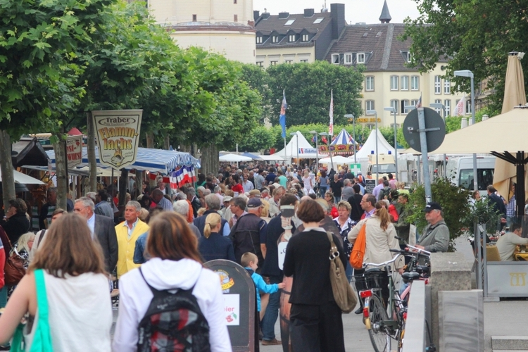 Heute startet das Frankreichfest Düsseldorf (xity-Foto: D. Postert)