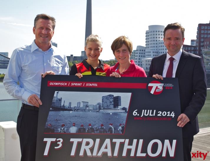 (v.l.)Christian Keller, Sophia Saller, Sonja Oberem und Martin Ammermann (xity-Foto: D. Creutz)