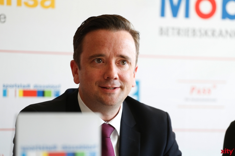 Martin Ammermann - Geschäftsführer von Düsseldorf Congress Sport & Event (xity-Foto: D. Creutz)